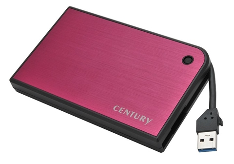 CMB25U3RD6G 「MOBILE BOX USB3.0 SATA6G (マゼンタ&ブラック)」