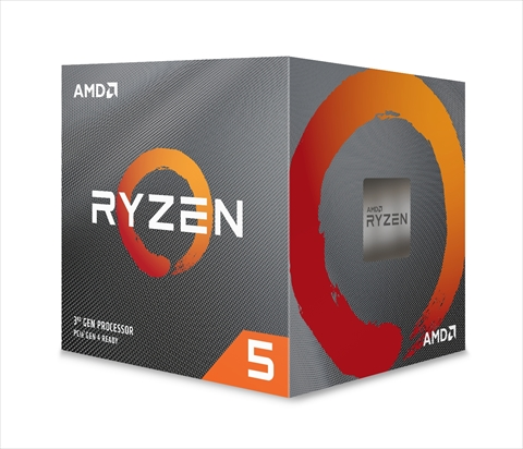 Ryzen 5 3600 With Wraith Stealth cooler (6C12T/3.6GHz(4.2)/65W/Total Cache 35MB)