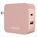 CHE-327-PK cheero 2port PD Charger USB-C PD 18W+USB-A