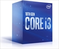 Core i3-10100 BOX (3.6GHz/Turbo Boost 4.3GHz/4-core 8-thread/Total Cache 6MB/TDP65W/UHD Graphics 630)