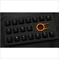 Tai-Hao Rubber Gaming Backlit Keycaps-18 keys Black th-rubber-keycaps-black-18 Tai-Hao(タイハオ) ゲーミングキーキャップ
