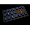 Tai-Hao Rubber Gaming Backlit Keycaps-18 keys Dark Blue th-rubber-keycaps-darkblue-18 Tai-Hao(タイハオ) ゲーミングキーキャップ