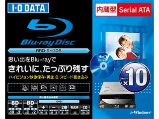 BRD-SH10B | デスクトップ用 | Blu-ray/HD DVD | 内蔵ドライブ | PCパーツと自作パソコンの専門店 | 1's PCワンズ: