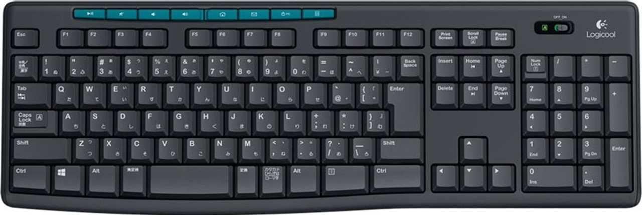 K275 Logicool Wireless Keyboard