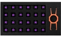 DeFiant EG Switch Purple EGKFE1-PBAA-AMSG