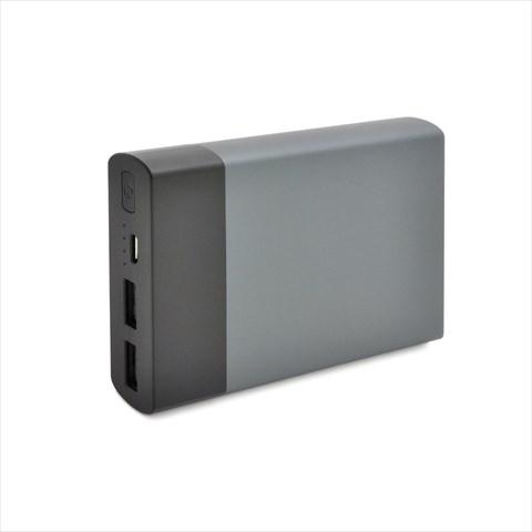 MP021BK SANYO製リチウム採用10000mAhモバイルバッテリー スペースグレイ