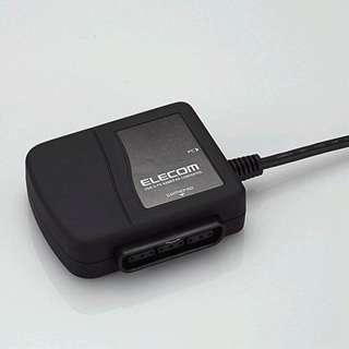 JC-PS101UBK USBtoPS/PS2ゲームパッドコンバータ