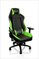 【5月中旬発売予定】 GT Confort Gaming chair -Black&Green- Wide Sports Style GC-GTC-BGLFDL-01