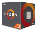 Ryzen 3 1200 with Wraith Stealth 65W cooler (4-core 4-thread/3.1GHz/ターボブースト時 3.4GHz/L2 512kB x 4/L3 8MB/TDP65W)