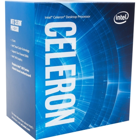 Celeron G4900 BOX (3.10GHz/ターボブーストなし/2-core 2-thread/Total Cache 2MB/TDP54W/HD Graphics 610)