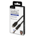 HD-LHAABK HIDISC Audio Adapter with Lightning 3.5mm