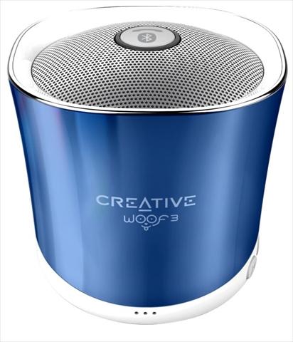 1's PCワンズで買える「Creative Woof 3 SP-WOOF3-BU スプリングクリスタル 4WAYの音楽再生に対応したワイヤレススピーカー」の画像です。価格は1,499円になります。