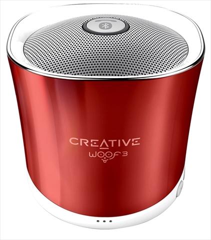 1's PCワンズで買える「Creative Woof 3 SP-WOOF3-RD サマールージュ 4WAYの音楽再生に対応したワイヤレススピーカー」の画像です。価格は1,499円になります。