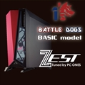 1'sBattledogs BASIC MODEL(Z-i7/T/1080ti/S500)