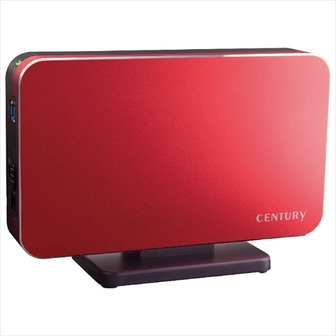 CSB35U3RD6G SIMPLE SMART BOX3.5 色:ミラージュレッド