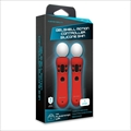Hyperkin PS MOVE GelShell Wand Silicon(Red) (M07227-RD)
