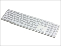 FK418BTS-JP Matias Wireless Aluminum Keyboard - Silver 日本語配列
