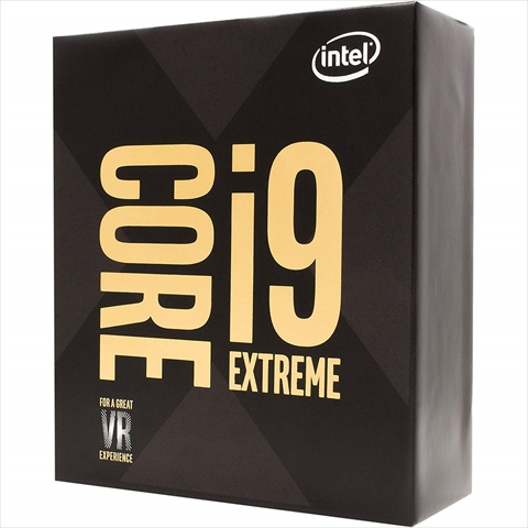 Core i9-9980XE (3.0GHz/Turbo Boost 4.4GHz/Turbo Boost MAX 4.5GHz/18-core 36-thread/L3 24.75MB/TDP165W)