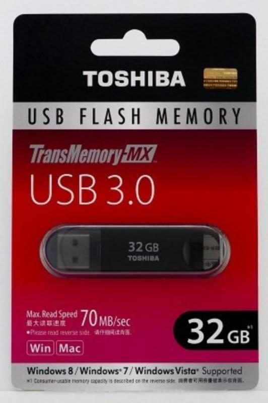 TransMemory-MX V3SZK-032G-BK [32GB] 製品画像