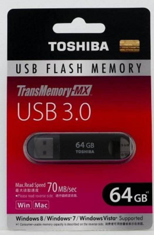 TransMemory-MX V3SZK-064G-BK [64GB]
