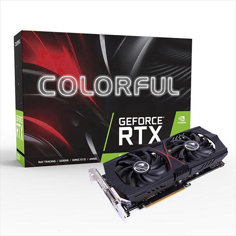 【クリックで詳細表示】Colorful GeForce RTX 2070 8G