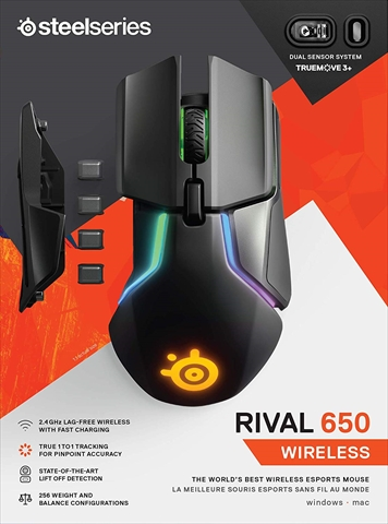 SteelSeries Rival 650 Wireless (62456)