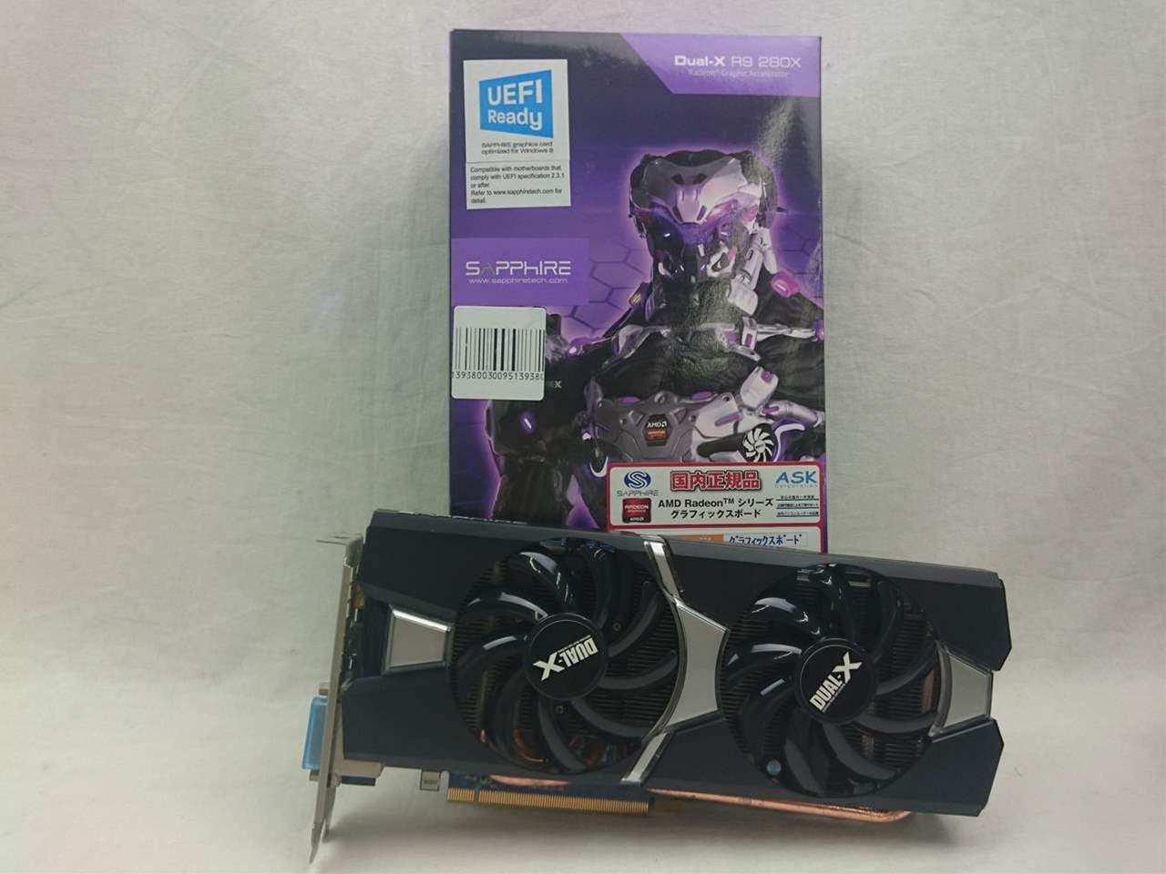 11221-00-20G/SA-R9280X-3GD5OCR01 (R9 280X 3G GDDR5 PCI-E DVI-I / DVI
